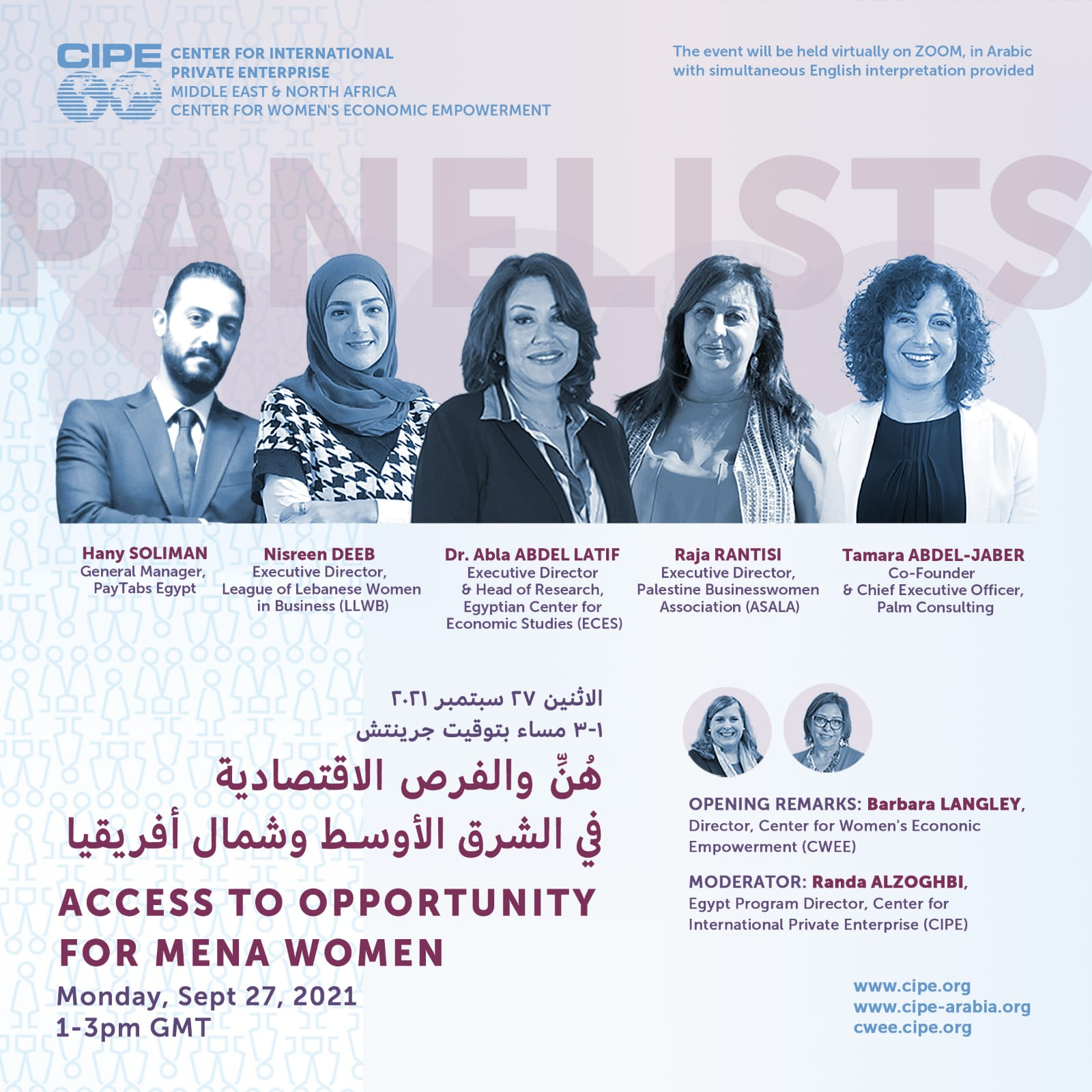 Access to opportunity for MENA women