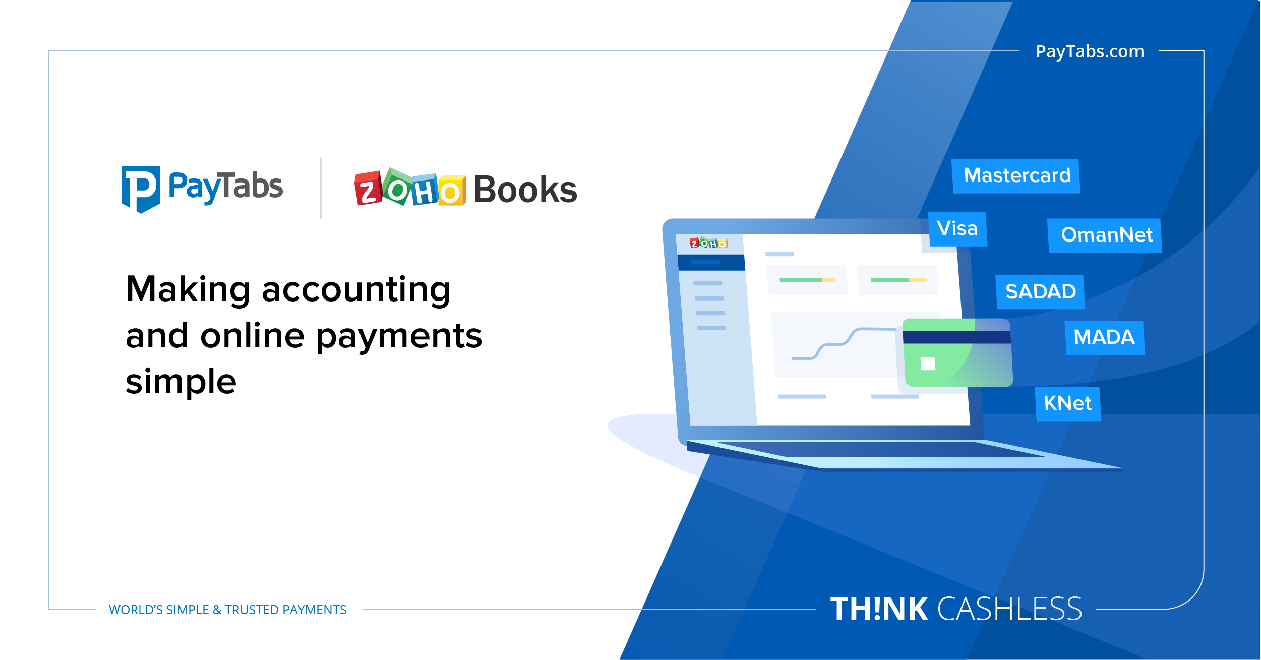 PayTabs' winning alliance with Zoho Books