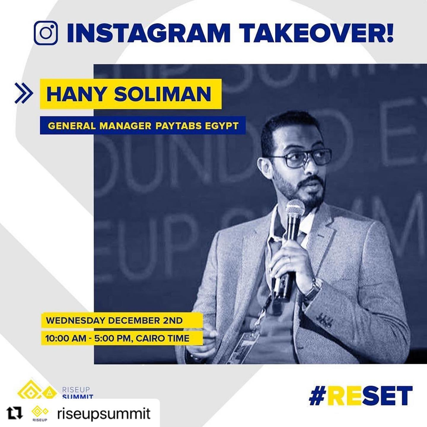 Rise up Summit Instagram Takeover