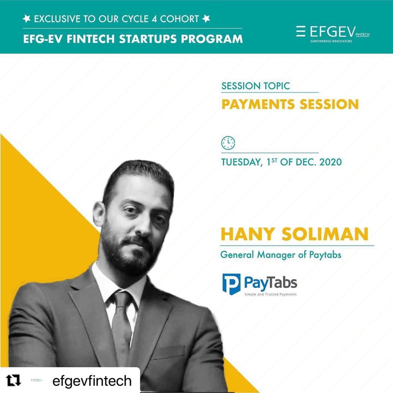 EFG-EV Fintech Startup Program